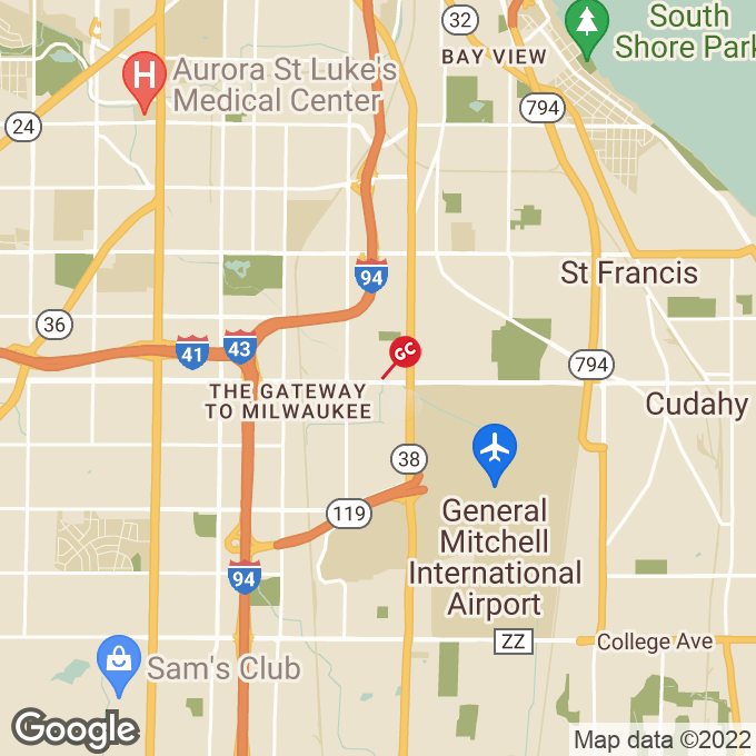 Golden Corral West Layton Avenue, Milwaukee, WI location map