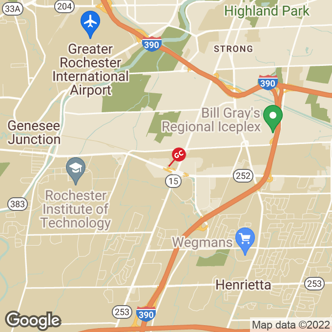 Golden Corral Jefferson Road, Rochester, NY location map