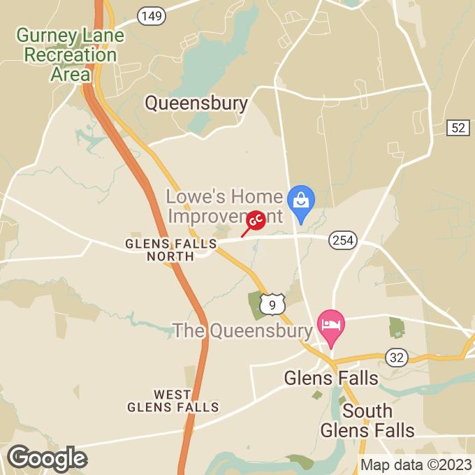 Golden Corral Quaker Road, Queensbury, NY location map