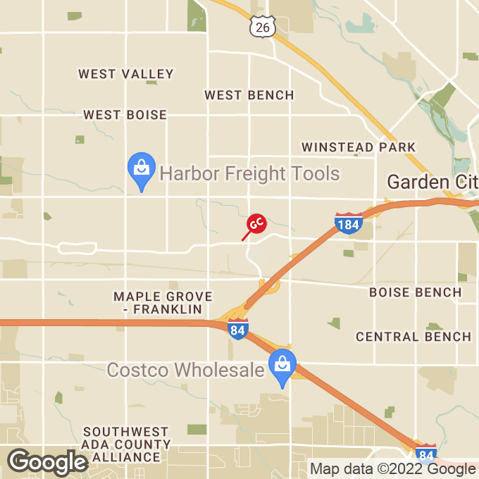 Golden Corral West Emerald Street, Boise, ID location map