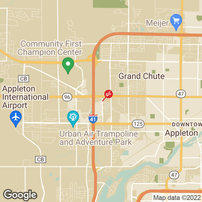 Golden Corral North Westhill Blvd., Appleton, WI location map