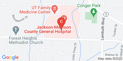 Jackson-Madison County General Hospital Location - <p>620 Skyline Dr.<br /> Jackson, TN 38301</p>