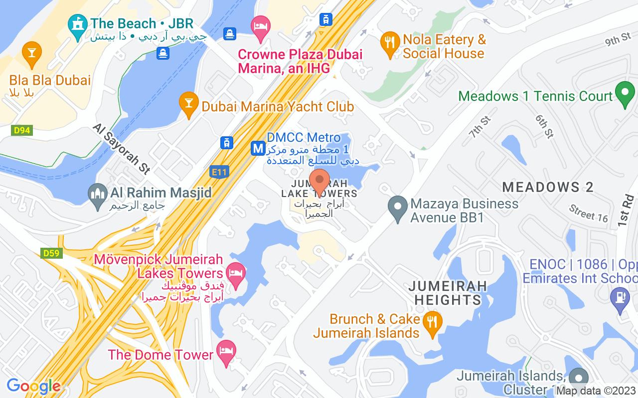 Google Map of 25.0692834,55.1417222