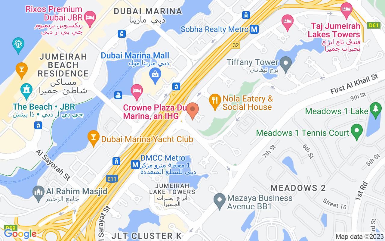 Google Map of 25.074095417442,55.1431643324888
