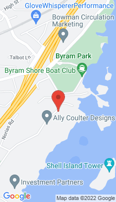 Map of Residential Property on 33 Byram Shore Road,Greenwich, CT