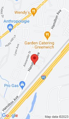 Map of Single Family Home on 247 Hamilton Avenue,Greenwich, CT