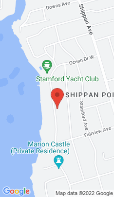 Map of Single Family Home on 194 Ocean Drive,Stamford, CT