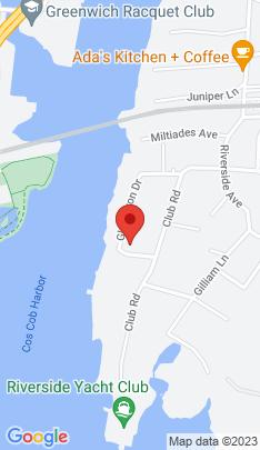 Map of Luxury Single Family Home on 44 Glen Avon Drive,Greenwich, CT