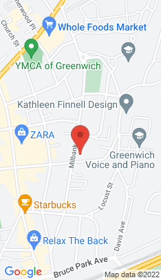 Map of Luxury Condo Home on 215 Milbank Avenue,Greenwich, CT