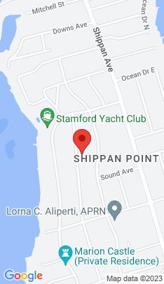 Map of Single Family Home on 54 Van Rensselaer Avenue,Stamford, CT