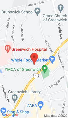 Map of Condo Home on 20 Church Street,Greenwich, CT