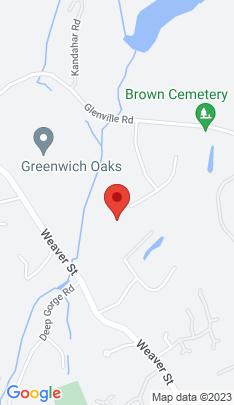 Map of Luxury Single Family Home on 14 Sherwood Farm Lane,Greenwich, CT