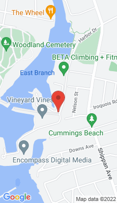 Map of Condo Home on 105 Harbor Drive,Stamford, CT