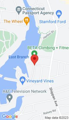 Map of condominium home on 79 Harbor Drive,Stamford, CT
