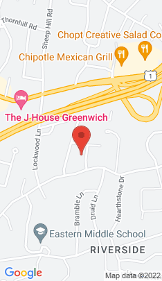 Map of Luxury Single Family Home on 8 Dorchester Lane,Greenwich, CT