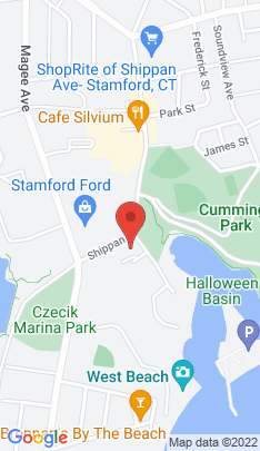 Map of Residential Property on 614 Shippan Avenue,Stamford, CT