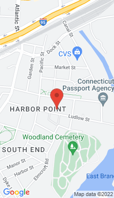 Map of Condo Home on 90 Ludlow Street,Stamford, CT