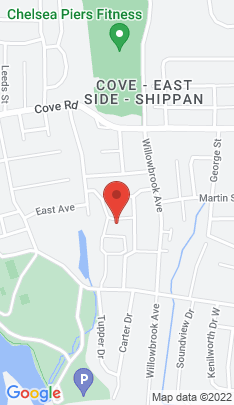 Map of Single Family Home on 41 Sachem Place,Stamford, CT