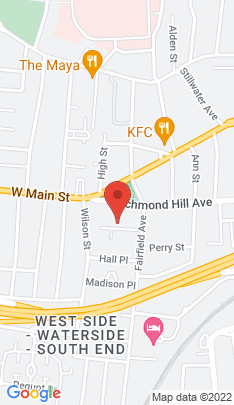 Map of Condo Home on 21 Richmond Place,Stamford, CT