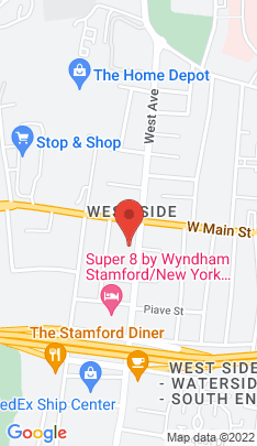 Map of Condo Home on 175 West Avenue,Stamford, CT