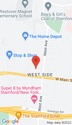 Map of Multi Family Home on 22 Nurney Street,Stamford, CT