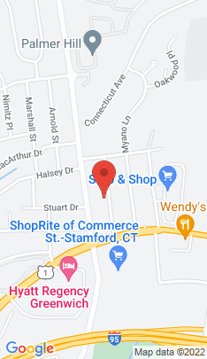 Map of Multi Family Home on 40 Whitmore Lane,Stamford, CT