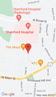 Map of Residential Property on 49 Fairgate Drive,Stamford, CT