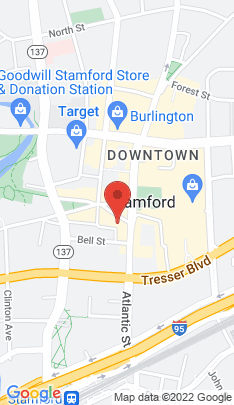 Map of Residential Property on 51 Bank Street,Stamford, CT