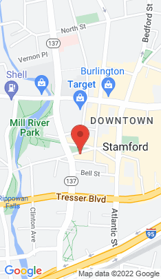 Map of Residential Property on 211 Main Street,Stamford, CT