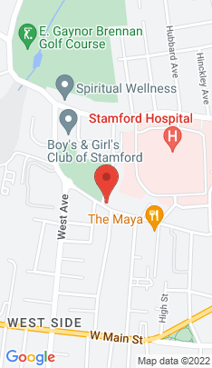 Map of Residential Property on 215 Stillwater Avenue,Stamford, CT