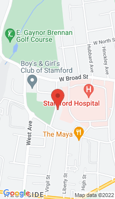 Map of Residential Property on 70 Merrell Avenue,Stamford, CT