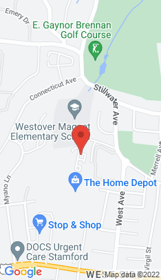 Map of Residential Property on 2 Westwood Drive,Stamford, CT