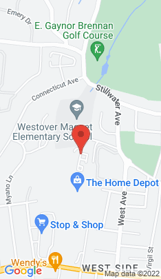 Map of Residential Property on 47 Westwood Drive,Stamford, CT