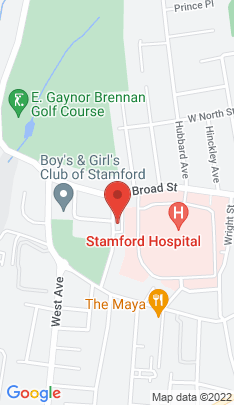 Map of Residential Property on 28 Merrell Avenue,Stamford, CT