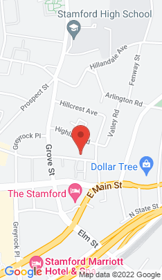 Map of Condo Home on 160 Forest Street,Stamford, CT