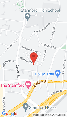 Map of Condo Home on 103 Highland Road,Stamford, CT