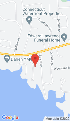 Map of Single Family Home on 10 Lighthouse Way,Darien, CT
