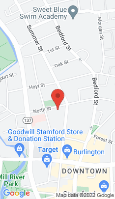 Map of Multi Family Home on 131 North Street,Stamford, CT