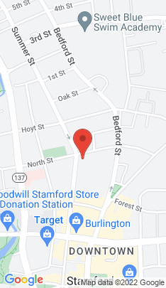 Map of Condo Home on 833 Summer Street,Stamford, CT