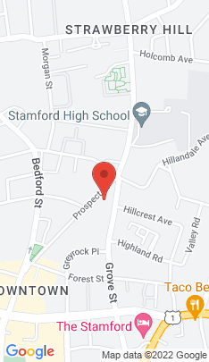 Map of Condo Home on 125 Prospect Street,Stamford, CT