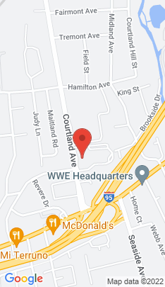 Map of condominium home on 59 Courtland Avenue,Stamford, CT