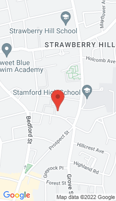 Map of Multi Family Home on 126b Hoyt Street,Stamford, CT