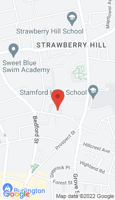 Map of multi family home on 126a Hoyt Street,Stamford, CT