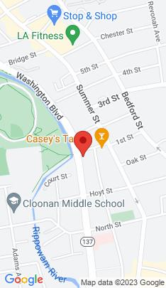 Map of Condo Home on 1633 Washington Boulevard,Stamford, CT