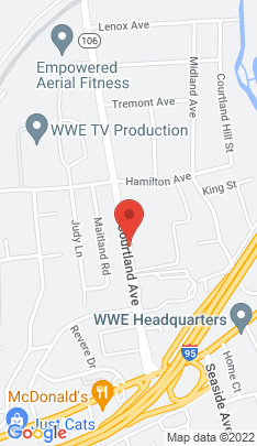 Map of Condo Home on 83 Courtland Avenue,Stamford, CT