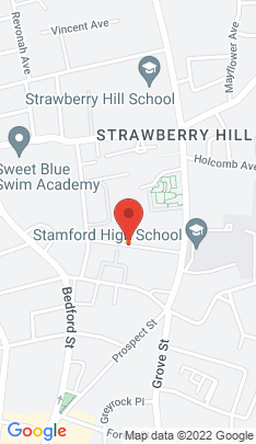 Map of Multi Family Home on 122 Hoyt Street,Stamford, CT