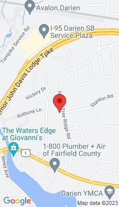Map of Single Family Home on 59 Hollow Tree Ridge Road,Darien, CT