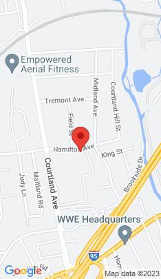 Map of Condo Home on 241 Hamilton Avenue,Stamford, CT