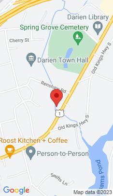 Map of Single Family Home on 1695 Boston Post Road,Darien, CT