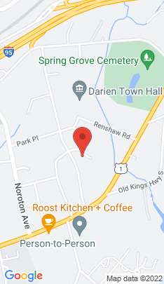 Map of Single Family Home on 23 Crimmins Road,Darien, CT